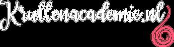krullenacademie logo wit