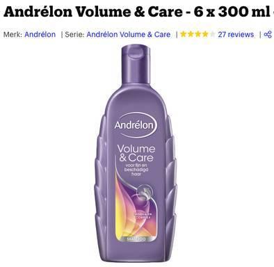 beste shampoo voor volume