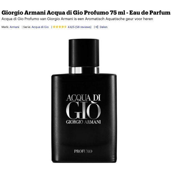 Armani Acqua Di Gio Profumo review