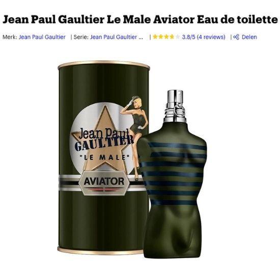 Jean Paul Gaultier Aviator kopen