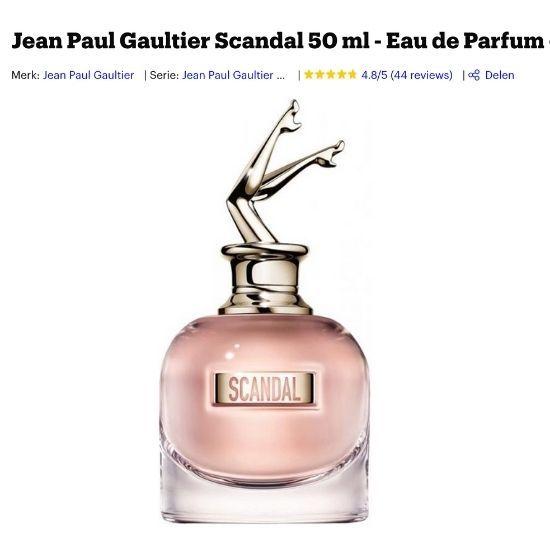 Jean Paul Gaultier Scandal kopen
