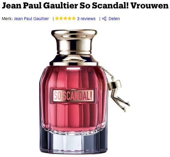 Jean Paul Gaultier So Scandal review