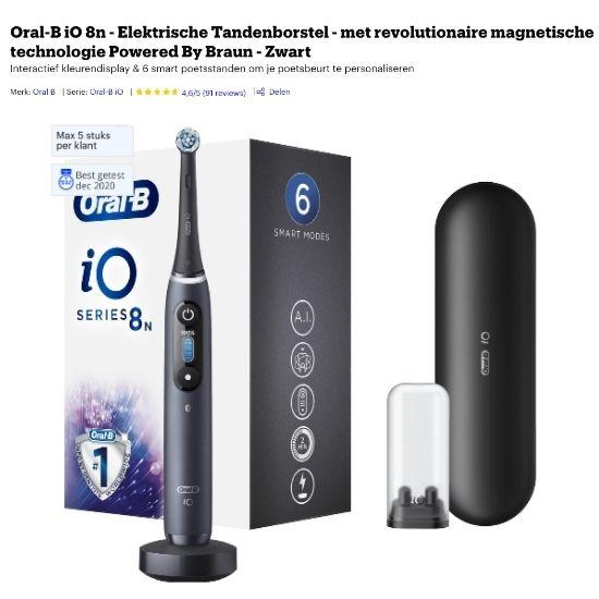 beste elektrische tandenborstel kopen