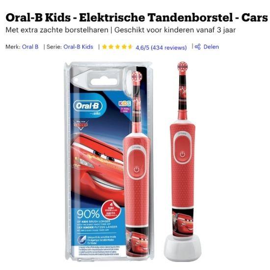 beste elektrische tandenborstel voor kinderen
